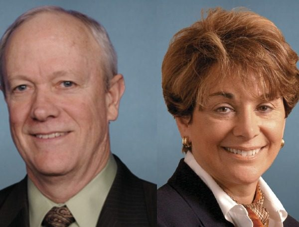 U.S. Reps. Anna Eshoo and Jerry McNerney